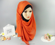 arab girl hot pictures dubai hijab wholesale pearl chiffon plain women shawl in 70 colors