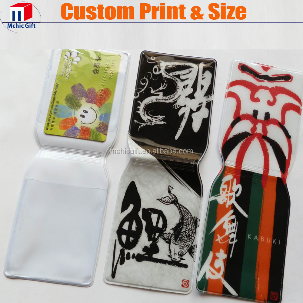 Cheap full color print single weld plastic soft pvc ATM card ...