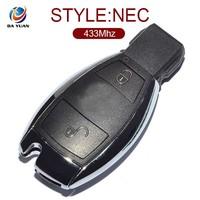car key fob for mercedes benz smart key 434Mhz 2 Button card [ AK002020 ]