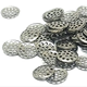 15mm Pipe Screens Gauzes Steel Smoking Bowl Metal Sieve Bong Concave Screens concave metal filter screens