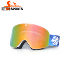 Most popular anti UV newest magnet design googles polarized dustproof snow skiing goggles
