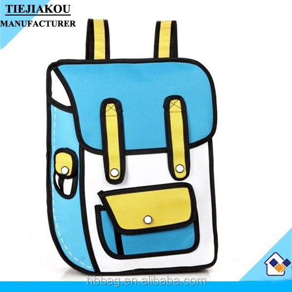 2015 latest fashion cartoon 3d bags for bags wholesale china