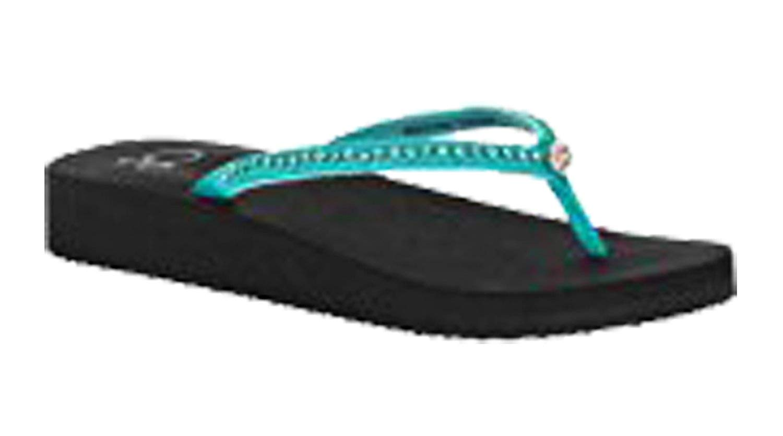 fdf11efddb75 Ocean Pacific OP Women s Beachwear Dress Thong Sandal With Rhinestone Jewel