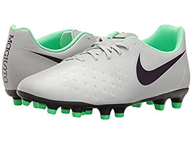 huge discount 402c3 79a99 Get Quotations · Nike Magista OLA II FG Wolf Grey Purple Dynasty Electric  Green Women s Soccer Shoes