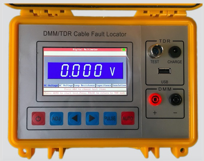 Cable Fault Locating : St b tdr cable fault locator telecom testing with