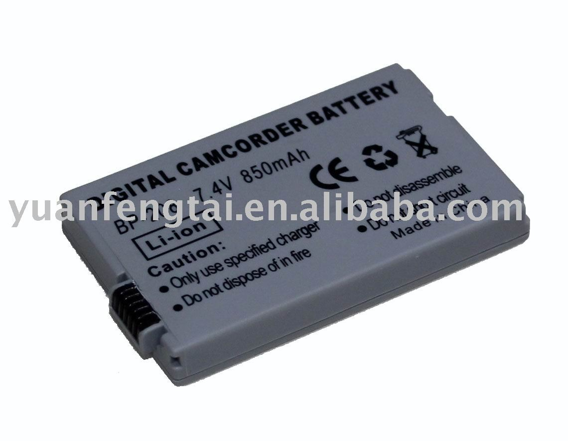 Camcorder Camera Battery For CANON BP-208 BP208