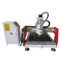 mach 3 controller 1.5KW spindle 3d router mini 6090 cnc router