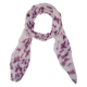 China new style floral printed long instant bubble chiffon shawl scarf