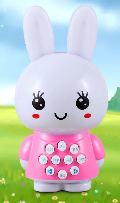 Mini rabbit story machine baby infant early childhood learning benefits emitting strange new toy wisdom