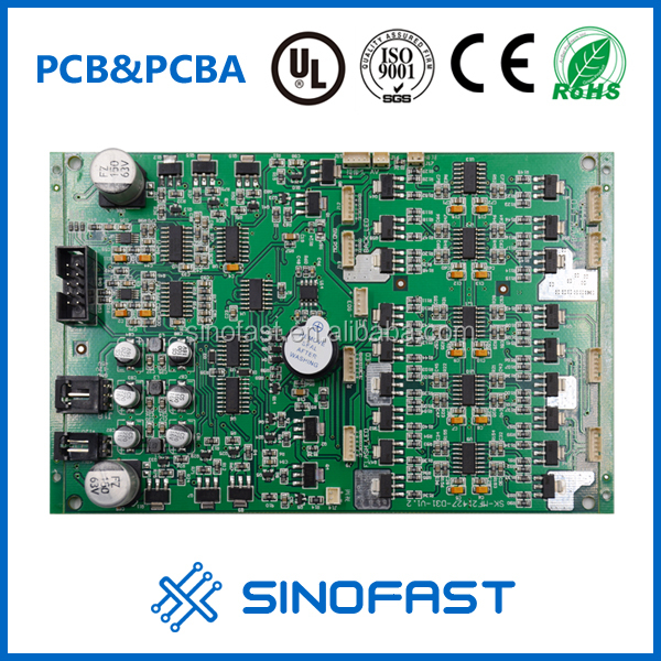 Custom-made 1.6mm Rogers Ceramic 2L 72*36 audio amplifier circuit assembly pcba manufacturer