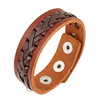 Tryme Ornaments Punk Cowhide Genuine Leather Bracelet Men Women Diy Fine Jewelry Rock Love Gift Summer Style Wristband Unisex