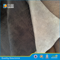 2016 New Suede Fabric for Sofa with Bronzing