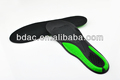 double color TPE gel insole athletic footbed honrycomb heel