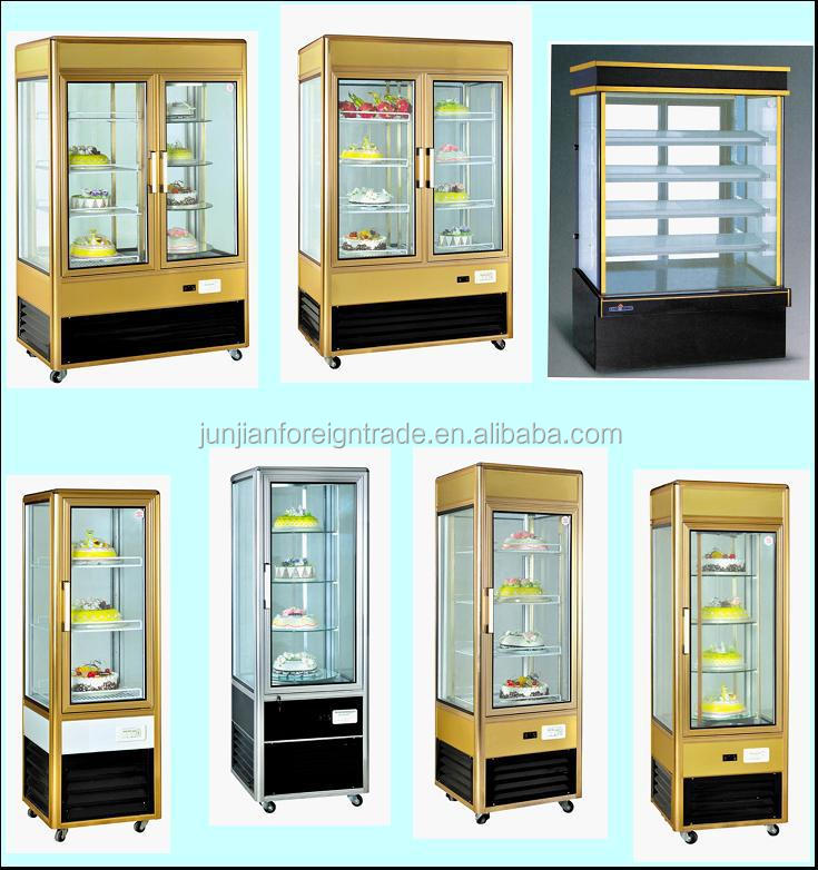 2 Floor Counter Top Cake Display Fridge With Ce Made In