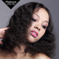 Delicate and Thin Knots 100% Hand Tied Wig Natural Black Remy Human Hair Brazilian Virgin Hair Wigs
