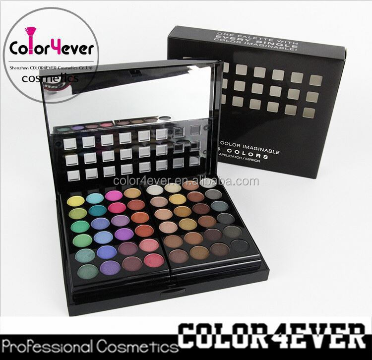 Wholesale New design Professional 78 colors Makeup Eyeshadow powder Palette beauty sets