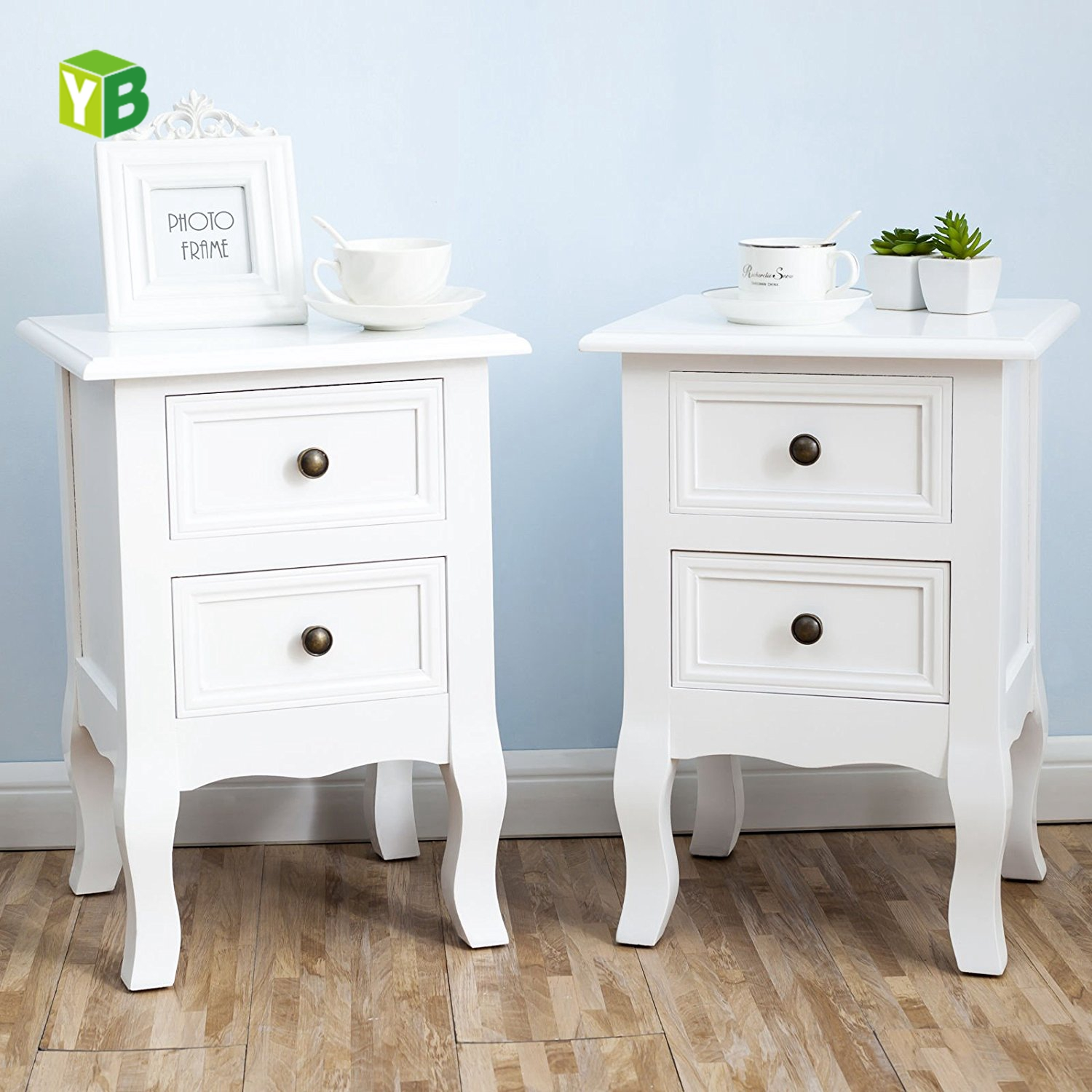 Mdf Nc Paint Cheap French Style Unique White Nightstands View White Nightstands Yb Product Details From Fuzhou Yibang Furniture Co Ltd On Alibaba Com