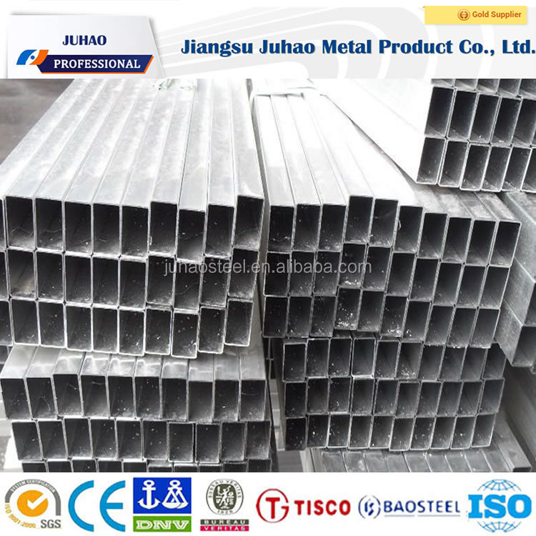 Supply square aluminum extrusion / aluminium square hollow section / extruded aluminum tube for industry