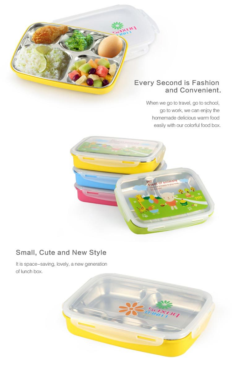 stainless steel 304 plate with dividers kids food warmer lunch box buy kids lunch box steel. Black Bedroom Furniture Sets. Home Design Ideas