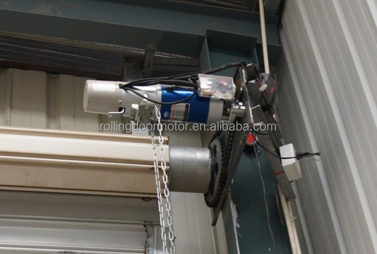 Rolling door motor ac motor chain driving garage door for Roller shutter motor installation