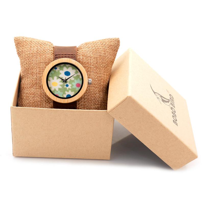 3 7 Cm Frauen Damen Armbanduhr Marke Bambus Uhr Fur Frauen Armband