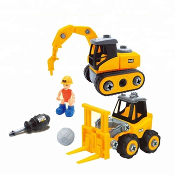 New Kids using Construction Forklift Crane Truck Toy car 2pc for Sale