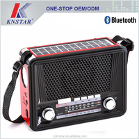 2016 China portable rechargeable AM FM solar radio and MP3 player