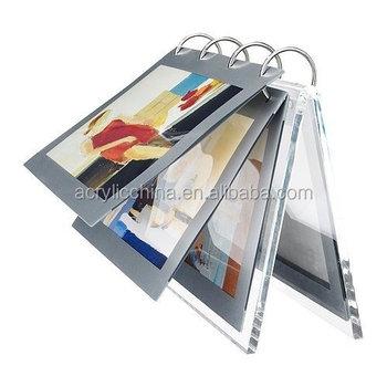 Handmade Acrylic Flip Photo Frame,Flip Flop Photo Frame - Buy Flip ...