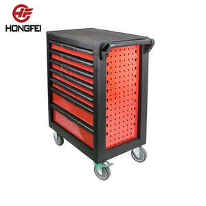 27 inch tool box cart trolley with bent panel