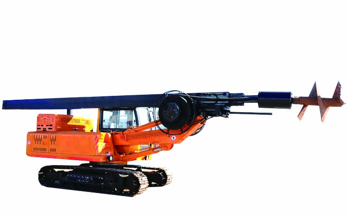 Drilling machine  for  foundation construction