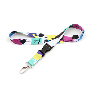 China professional supplier lanyard with breakaway clip