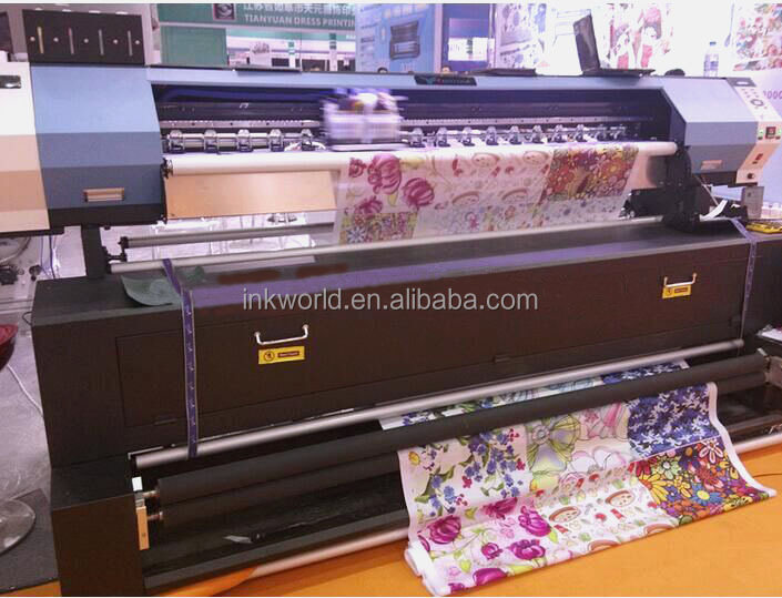 China factory supply YF-1700S eco solvent flex print machine for epson dx5 head