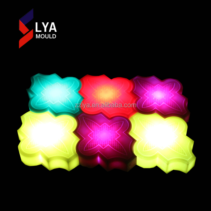 Fast Delivery Colorful LED Lights Stone In Concrete With Good Prices
