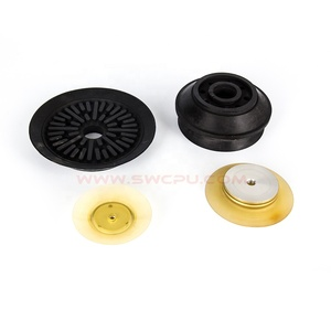 Silicone flat vacuum suction cups and rubber sucker for industrial