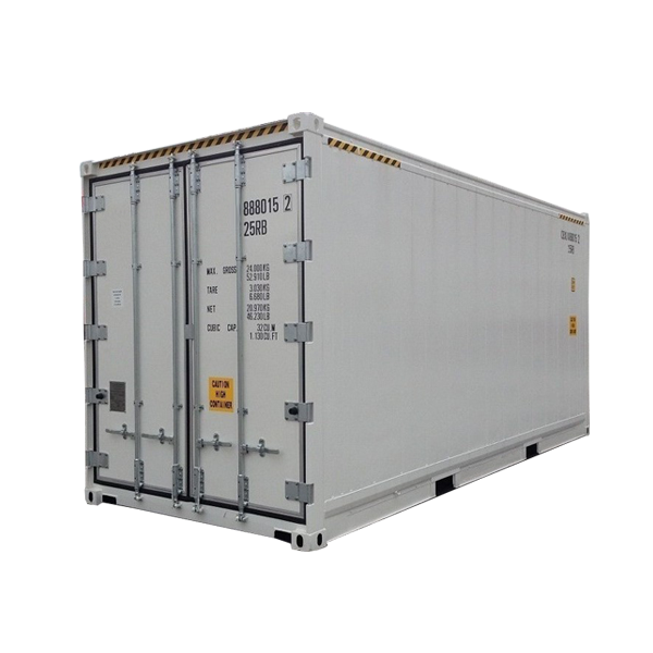 20hc Refrigerated 20ft สูง Cube Reefer Container