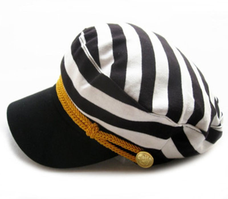 9da1afb218ee8 Wholesale OEM Personalized Unisex America Armband Captain Sailor Hats