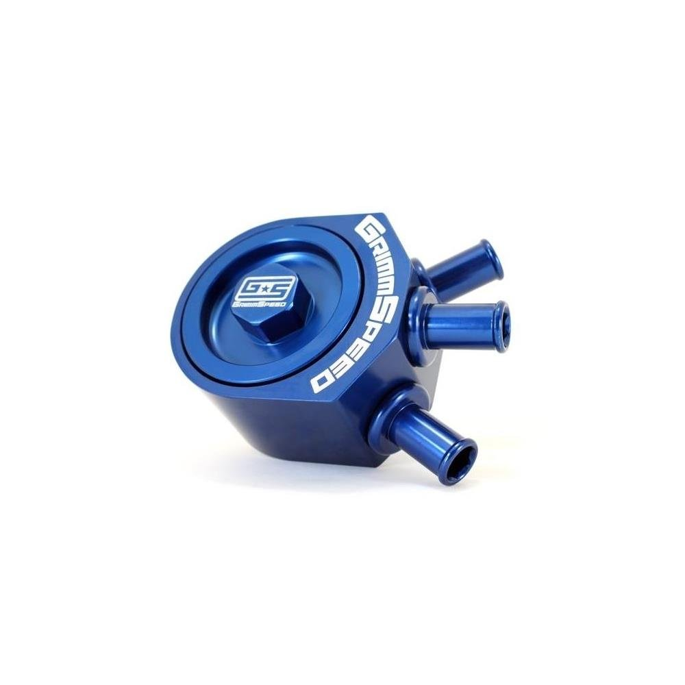 GrimmSpeed 08-10+ WRX / 05-09 LGT BLUE Air Oil Separator (078016b)