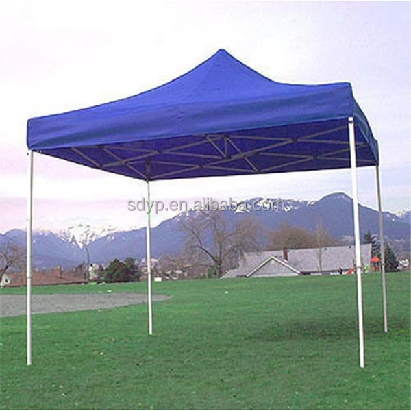 Yunpeng 3x3m kingkong white steel folding tent ellipse cross tube