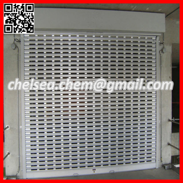 Commercial Shop Front Security Grill Door Stainless Steel