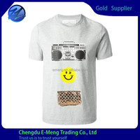 Fashionable Customized New Design Fitted Triblend Printed Apparel T shirt for Men