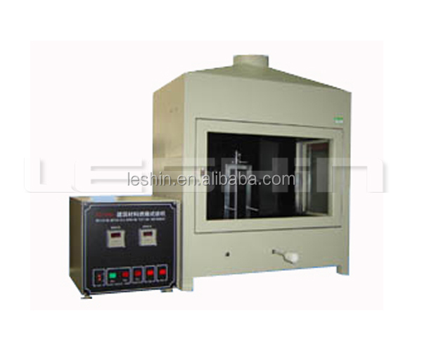 Building materials combustion test instrument
