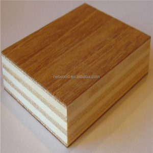 Linyi factory 1220x2440mm Finished Melamine Eco Plywood