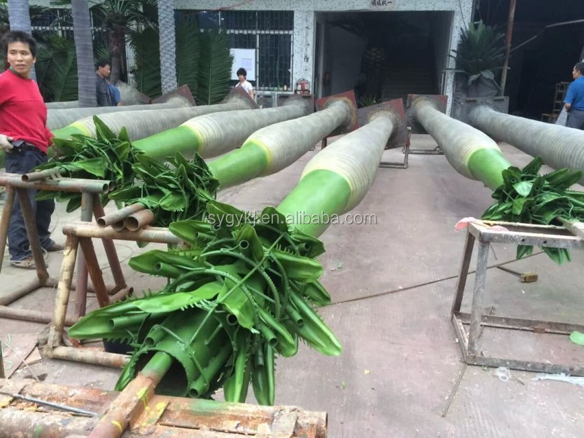 China wholesale plastic artificial palm tree for decoration