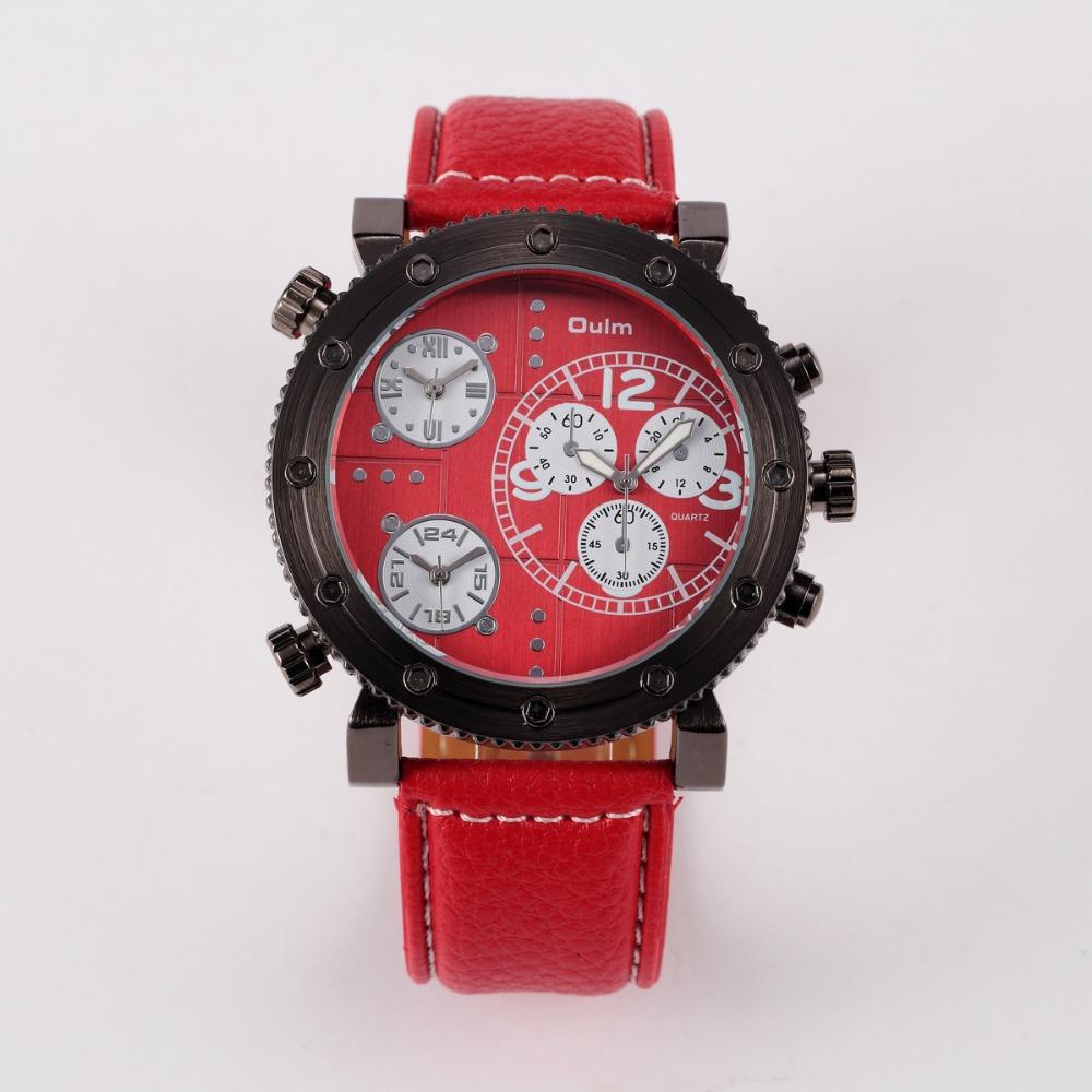 New Sports Quartz Watches Leather Watches Wrist Watch Big ...