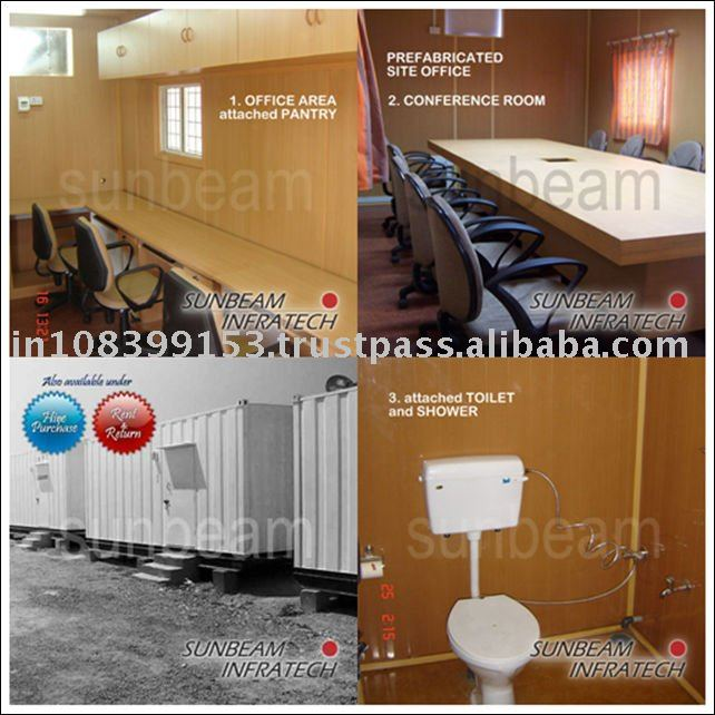 Prefabricated House - Multipurpose Site Office Container