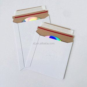 ECO FRIENDLY SIZE CD CARD MAILERS 6x6