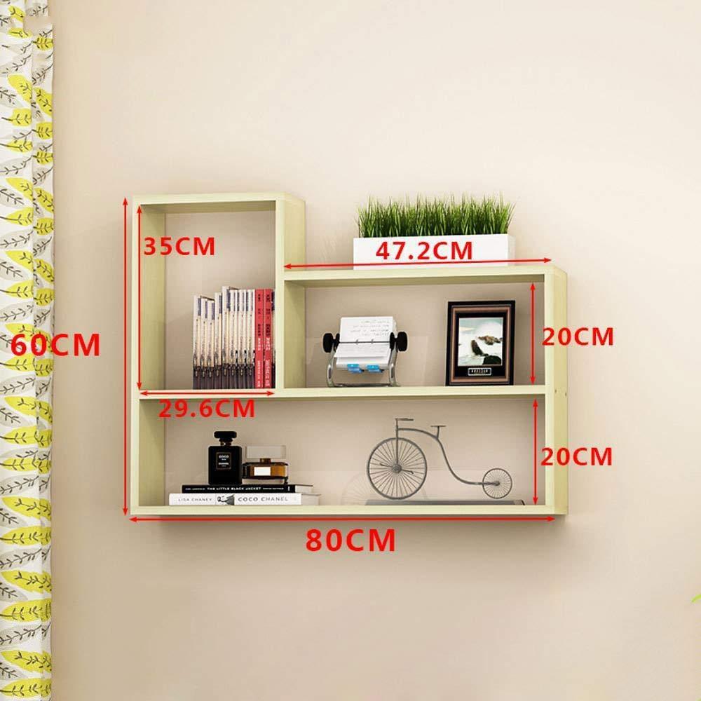 Yunfeng Bookshelf,Wall-Mounted Multi-Function Rack-Type Rack-Mounted Shelves Storage Finishing cabinets