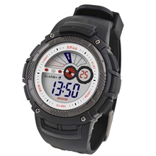 Led esporte XINJIA TPU Strap cronômetro <span class=keywords><strong>EL</strong></span> <span class=keywords><strong>Backlight</strong></span> alarme ciclismo moda 5 ATM Waterproof Men Digital Watch presente