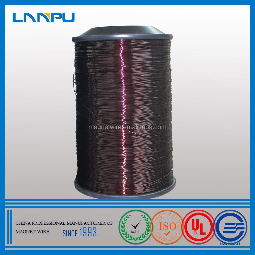 Heat level 180 15 SWG enamelled coated aluminium wire grade 5050 or 5052