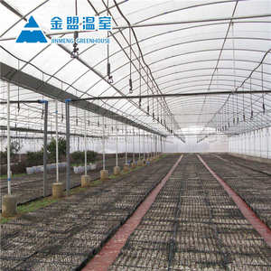 China hot sale commercial film cover greenhouse,plastic film greenhouse for agriculture farming